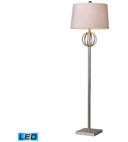 Dimond Lighting Donora 1 Light Floor Lamp in Silver Leaf D1495-LED photo