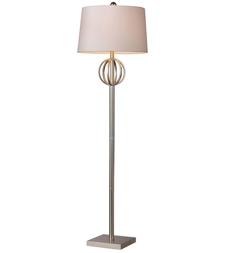 Dimond Lighting D1495 Donora 62 inch 150 watt Silver Leaf Floor Lamp Portable Light in Incandescent photo