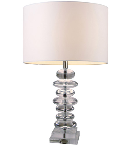 Dimond Trump Home Madison 1 Light Table Lamp in Clear Crystal D1512 photo