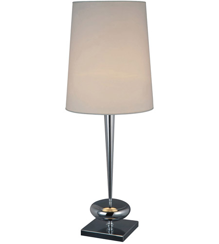 Dimond Lighting D1516 Sayre 36 inch 100 watt Chrome Table Lamp Portable Light in Incandescent photo