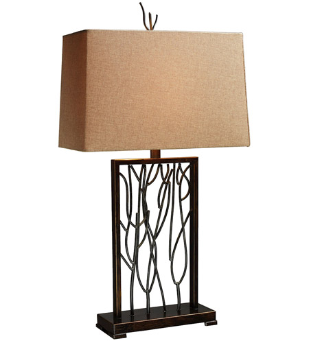 Dimond Lighting D1518 Belvior Park 33 inch 150 watt Aria Bronze and Iron Table Lamp Portable Light in Incandescent photo