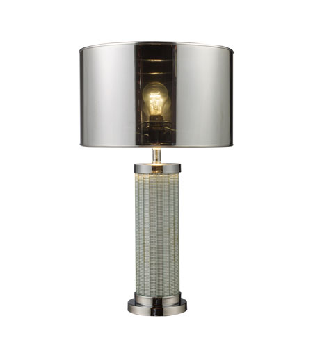 Dimond Mont Alto 1 Light Table Lamp in Chrome and Mirror D1596 photo