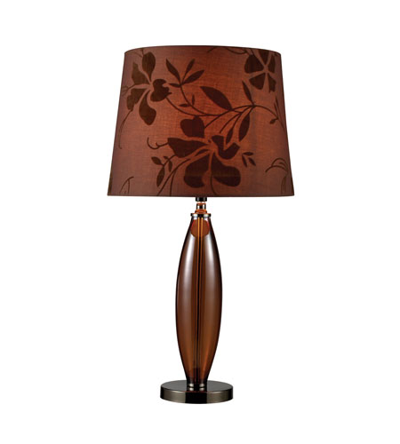 Dimond Fairview 1 Light Table Lamp in Bronze and Coffee Plating D1604 photo