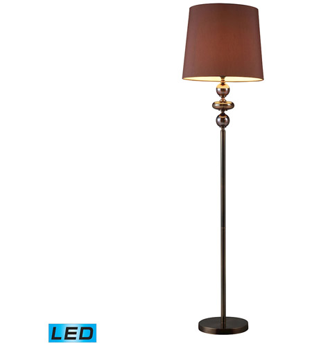 Dimond Lighting Dravos 1 Light Floor Lamp in Bronze And Coffee Plating D1607-LED photo