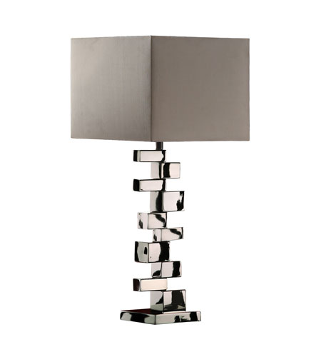 Dimond Emmaus 1 Light Table Lamp in Chrome D1619 photo