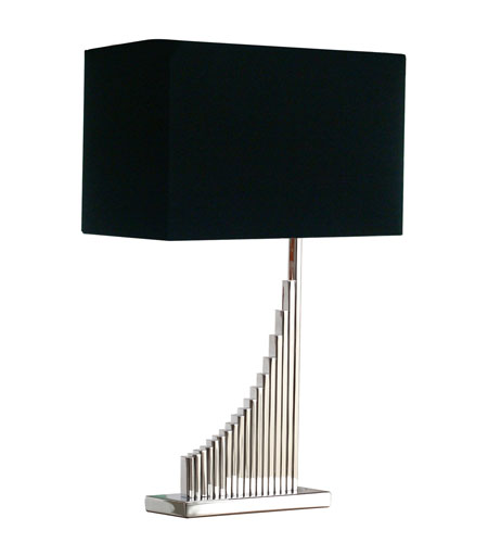 Dimond Laflin 1 Light Table Lamp in Chrome D1620 photo