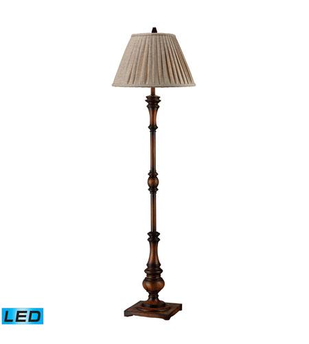 Dimond Lighting Winthorpe 1 Light Floor Lamp in Zen Walnut D1755-LED photo