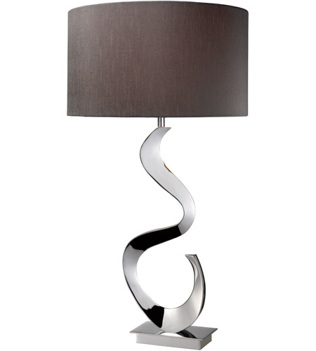 Dimond Morgan 1 Light Table Lamp in Chrome D1820 photo