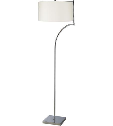 Dimond lighting d1832 lancaster 58 inch 150 watt chrome for 150 watt floor lamp