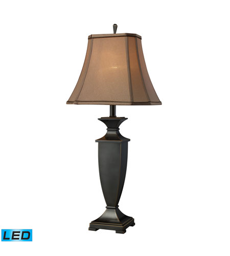 Dimond Lighting D1861-LED Ashville 33 inch 13.5 watt Oil Rubbed Bronze Table Lamp Portable Light photo