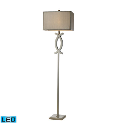 Dimond Lighting Rowley 1 Light Floor Lamp in Polished Nickel D1865-LED photo