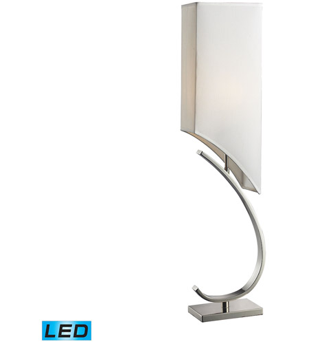 Dimond Lighting Appleton 1 Light Table Lamp in Polished Nickel D2005-LED photo
