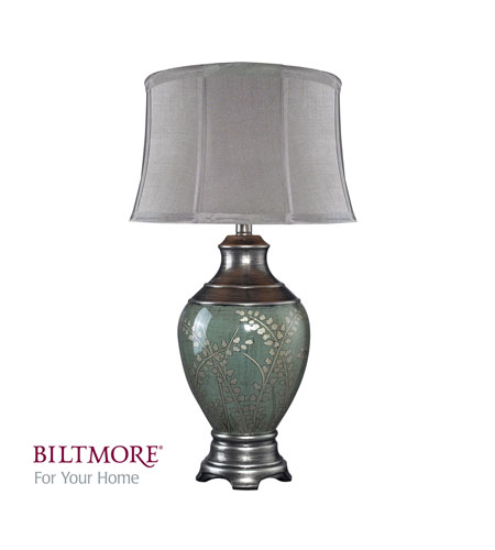 Dimond Biltmore For Your Home Chippendale 1 Light Table Lamp in Pinery Green D2056 photo