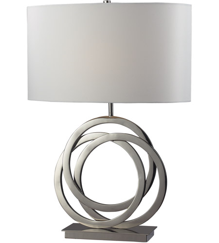Dimond lighting d2058 trinity 25 inch 150 watt polished nickel table dimond lighting d2058 trinity 25 inch 150 watt polished nickel table lamp portable light in incandescent aloadofball