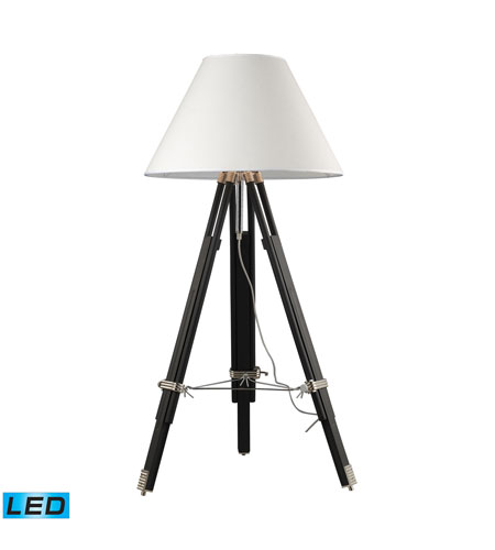 Dimond Lighting D2127-LED Studio 67 inch 13.5 watt Chrome And Black Floor Lamp Portable Light in LED photo