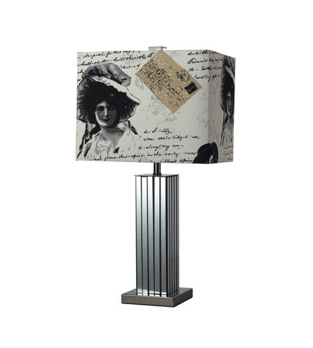 Dimond Meade 1 Light Table Lamp in Black Nickel D2159 photo