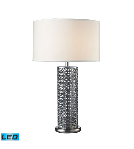 Dimond Lighting Chancelor 1 Light Table Lamp in Chrome Plated D2167-LED photo