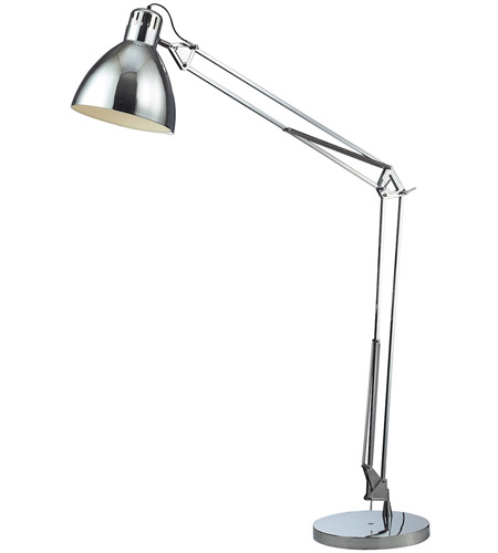 Dimond Lighting D2177 Ingelside 63 inch 100 watt Chrome Floor Lamp Portable Light in Incandescent photo
