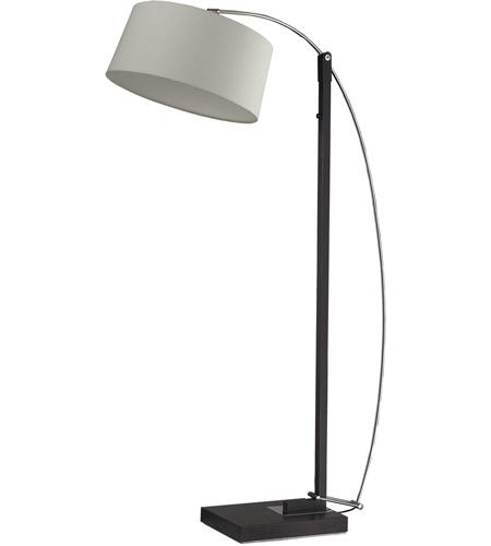 Dimond lighting d2183 logan square 76 inch 60 watt dark brown floor lamp portable light in