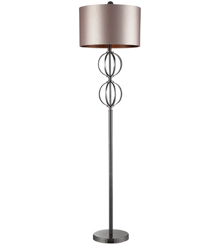 Dimond Lighting D2223 Danforth 63 inch 150 watt Coffee Plating Floor Lamp Portable Light in Incandescent photo