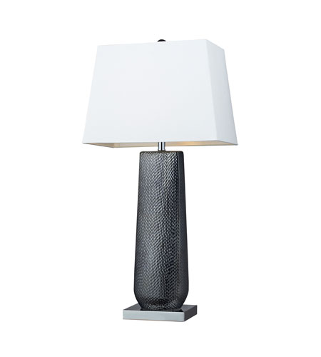 Dimond Lighting D2237 Milan 35 inch 100 watt Black Pearl / Chrome Table Lamp Portable Light in Incandescent photo
