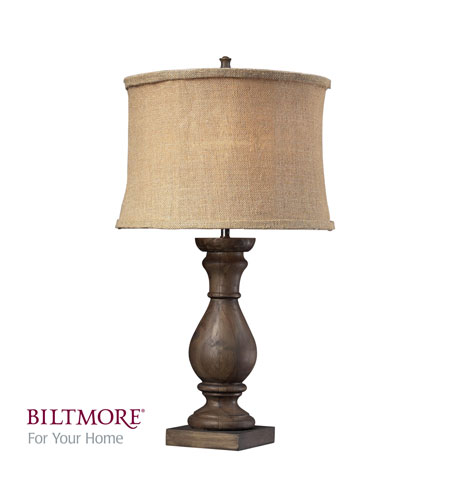 Dimond Biltmore For Your Home Pisgah 1 Light Table Lamp in Dark Oak D2241 photo