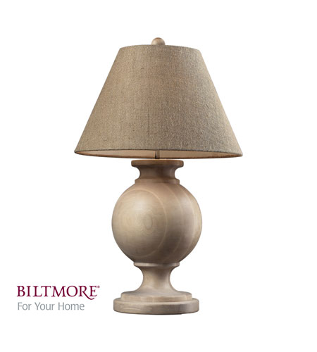 Dimond Biltmore For Your Home Swannanoa 1 Light Table Lamp in Beech Wood D2249 photo