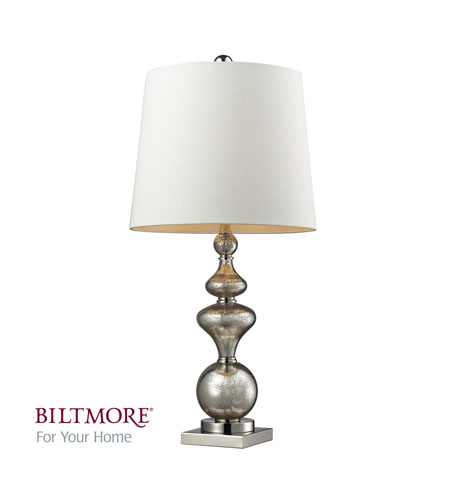 Dimond Angelica 1 Light Table Lamp in Antique Mercury Glass / Polished Nickel D2255 photo