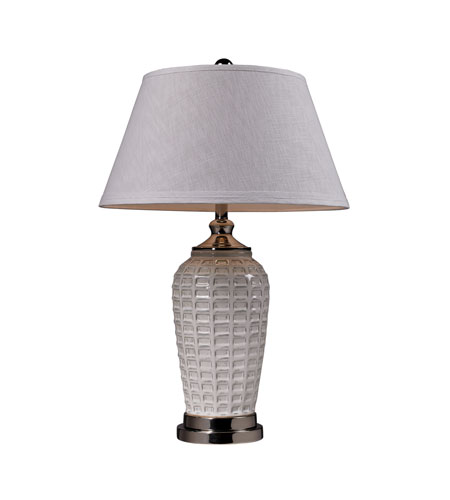 Dimond Lighting Winslow 1 Light Table Lamp in Polished Nickel D2306 photo