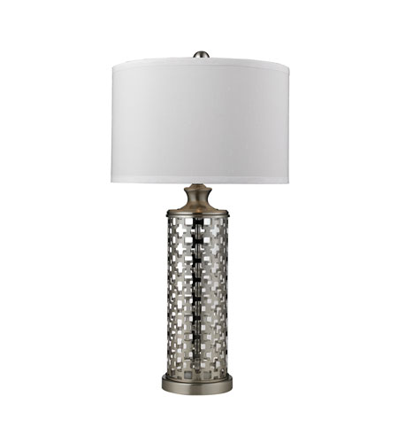 Dimond Lighting D2313 Medford 32 inch 100 watt Brushed Nickel Table Lamp Portable Light in Incandescent photo