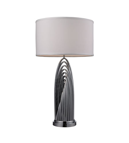 Dimond Lighting Perryton 1 Light Table Lamp in Chrome D2321 photo