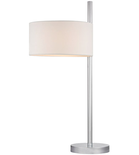 Dimond Lighting D2472 Attwood 25 inch 100 watt Polished Nickel Table Lamp Portable Light in Incandescent photo