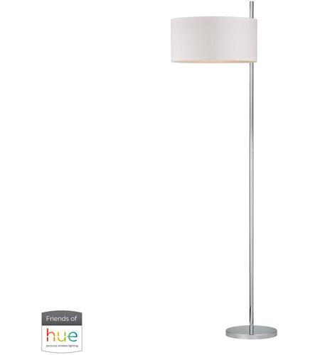 Dimond Lighting D2473 Hue D Attwood 64 Inch 60 Watt Polished Nickel Floor Lamp Portable Light