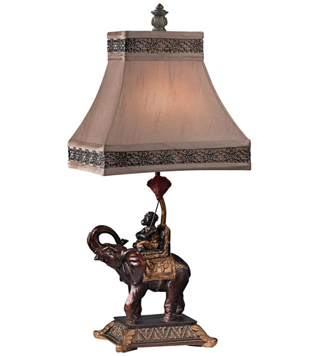 Dimond Alanbrook 1 Light Table Lamp in Brasilia Bronze D2476 photo