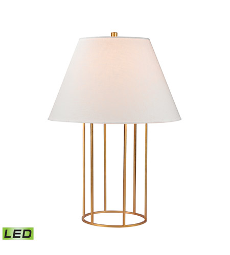 Dimond lighting d2589 led barrel frame 24 inch 95 watt gold leaf dimond lighting d2589 led barrel frame 24 inch 95 watt gold leaf table lamp portable aloadofball Image collections