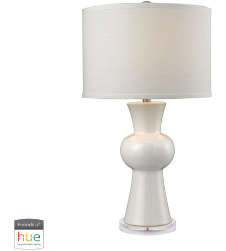 Dimond Lighting Gloss White Table Lamps