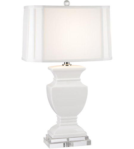 Dimond Lighting D2634 Ceramic 27 inch 150 watt Gloss White Table Lamp Portable Light in Incandescent photo