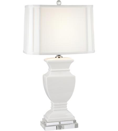 Dimond Lighting D2634 Ceramic 27 Inch 150 Watt Gloss White Table
