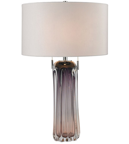 Purple Table Lamp Unique Dimond Lighting D60WLED Ferrara 60 Inch 6060 Watt Purple Table