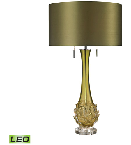 Dimond Lighting Green Glass Table Lamps