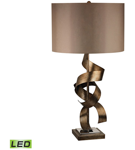 Allen 29 Inch 9 5 Watt Roxford Gold Table Lamp Portable Light In Led