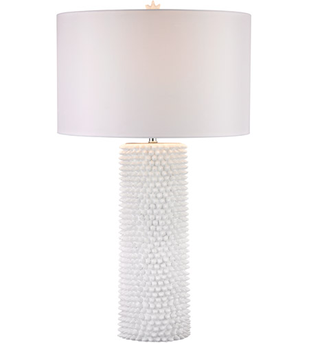 Dimond Lighting D2767 Punk 30 inch 100 watt White Table Lamp Portable Light in Incandescent photo