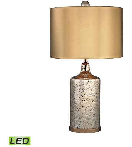 Signature 22 Inch 9 5 Watt Antique Gold Table Lamp Portable Light In Led