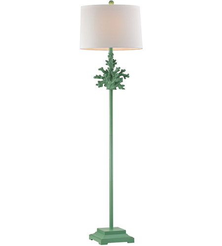 Dimond Lighting D2791G Coral 60 inch 100 watt Spearmint Floor Lamp Portable Light in Incandescent photo