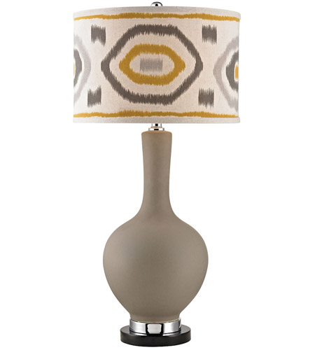 Dimond Lighting D2809 Signature 34 Inch 150 Watt Clay Table Lamp Portable  Light In Incandescent