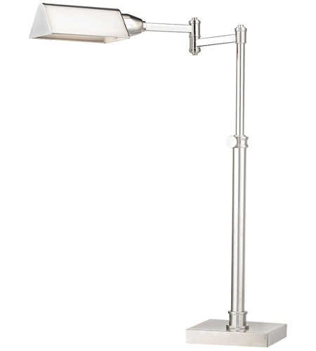Dimond Lighting D2820 Signature 23 inch 60 watt Polished Nickel Desk Lamp Portable Light photo