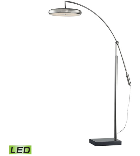 Dimond Lighting D2901 Signature 67 Inch 24 Watt Brushed Steel Floor Lamp Portable Light Photo