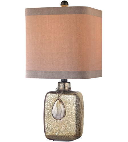 Cadiz 22 Inch 150 Watt Bronze Mercury Table Lamp Portable