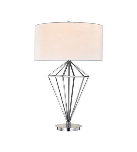 Dimond lighting d3008 adele 32 inch 60 watt polished nickel table dimond lighting d3008 adele 32 inch 60 watt polished nickel table lamp portable light aloadofball Choice Image