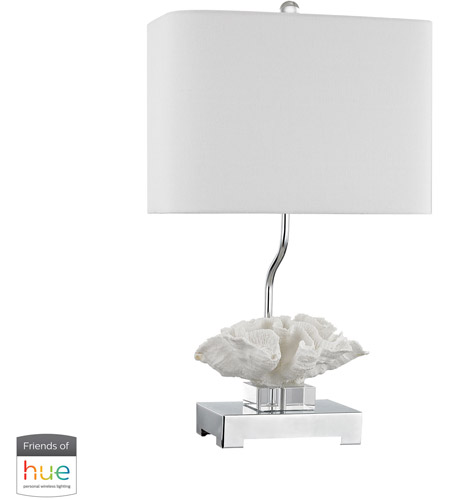 Dimond Lighting White Crystal Table Lamps